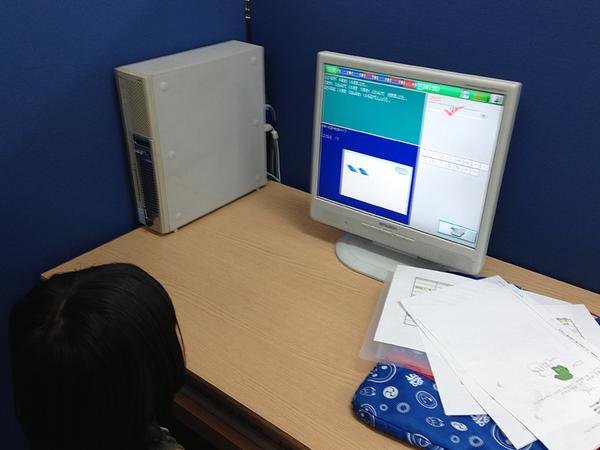 年長さんはデジタル教材で先取り学習